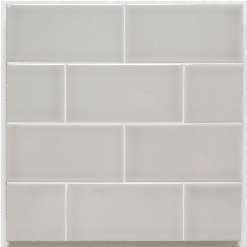 H Line | 3x6 Glossy Subway Tile | Pumice