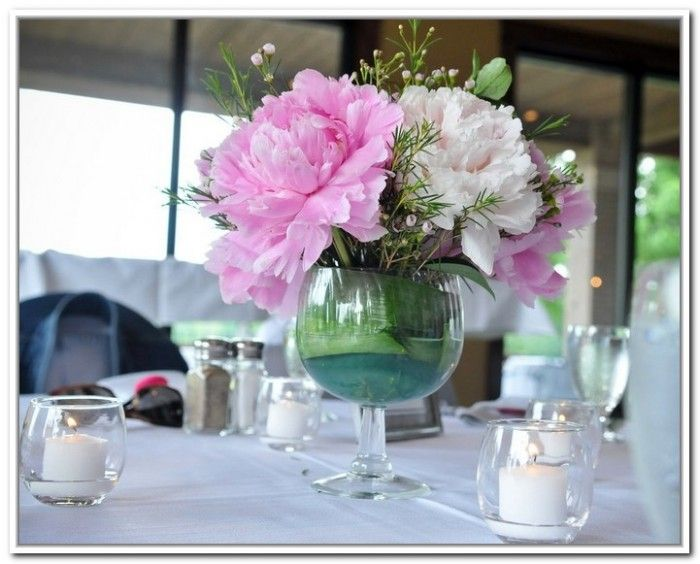 Images about glass flower arrangements on pinterest