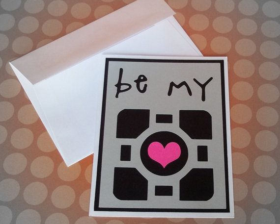 geeky valentine's day cards printable