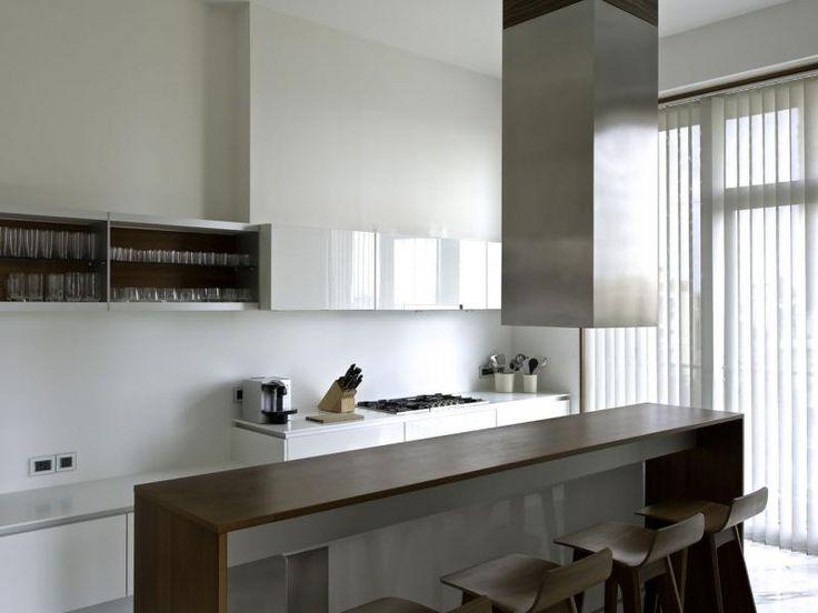 Bárpult a konyhában - konyha / étkező ötlet