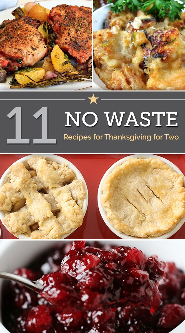 11 No-Waste Thanksgiving Recipes for Two | thegoodstuff
