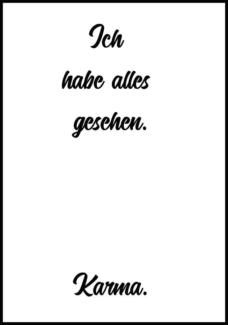 Leinwand Bild Poster XXL Kunstdruck Spruch