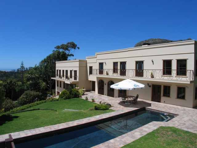 Villa Lyonesse - A peaceful and tranquil atmosphere greets you at Villa Lyonesse. This 850 sqm mansion is situated on two acres of pristine indigenous gardens on the slopes of Table Mountain National park in the upmarket ... #weekendgetaways #constantia #southafrica