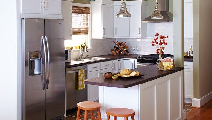 Furniture For Small Kitchens   Small kitchen design layout ...