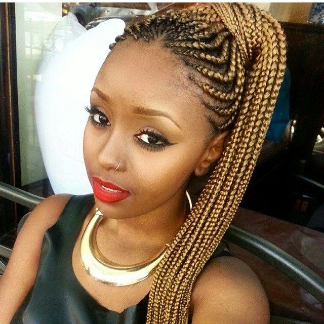 Wondrous 17 Best Images About Creativity Of Cornrows On Pinterest Ghana Short Hairstyles Gunalazisus