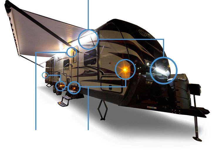 RV LED LIGHT GUIDE