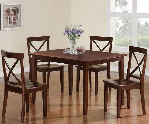 Great Small Dining Room Sets Wooden Style Traditional Design. #dinning #dinningtable #dinningroom