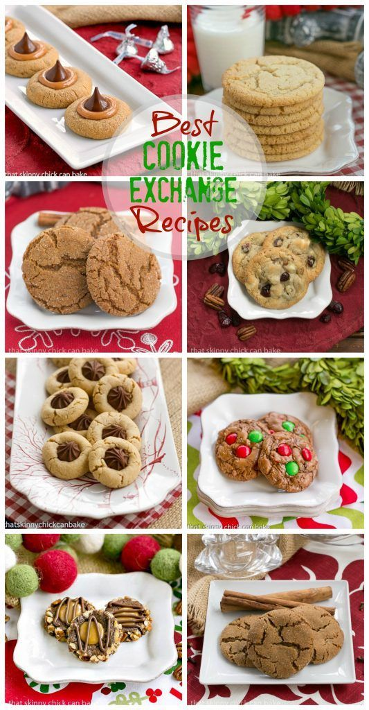 Best Cookie Exchange Recipes from That Skinny Chick Can Bake blog