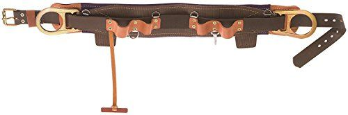 Klein Tools 5268N-24D Fixed Lineman's Body Belt