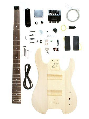 The 25 best guitar kits ideas on pinterest build your own stellah unfinished headless bass guitar kit project diy new solutioingenieria Gallery
