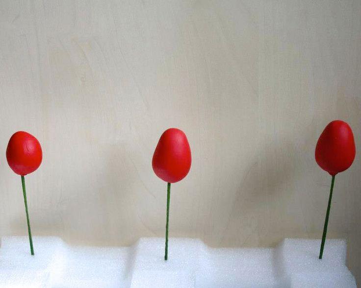 cum sa faci flori din pasta de zahar