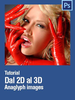#Photoshop #Tutorial How to 2d-3D anaglyph