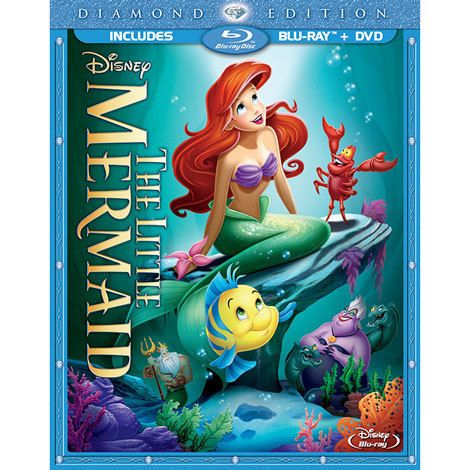 The Little Mermaid DVD 2 Disc set Christmas 2016 thanks hunzy