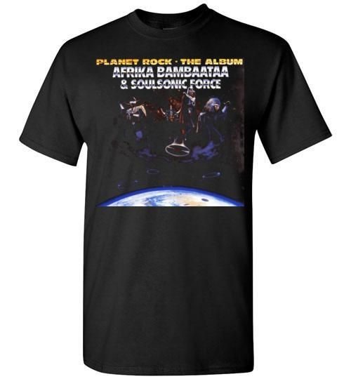 Afrika Bambaataa & Soulsonic Force , New York, Electro Funk,Universal Zulu  Nation,Old School Hip Hop,Planet Rock, v4, Gildan Short-Sleeve T-Shirt