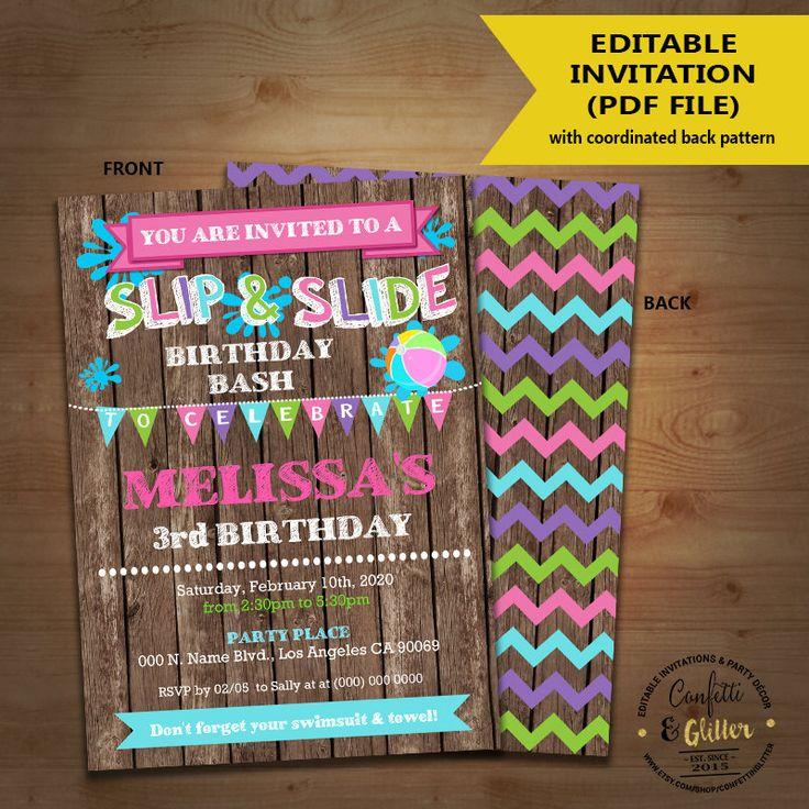 120 best Kids Birthday invitations images on Pinterest   Birthday ...