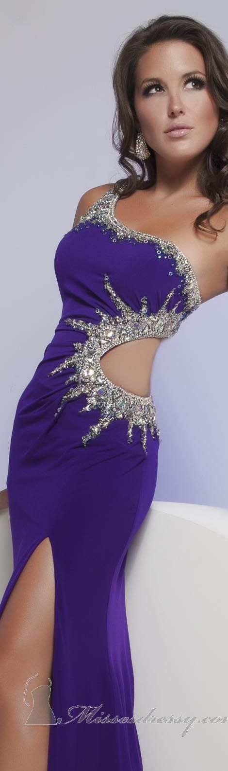 One Shoulder Gown by Jasz Couture #sexy #oneshoulder #dress