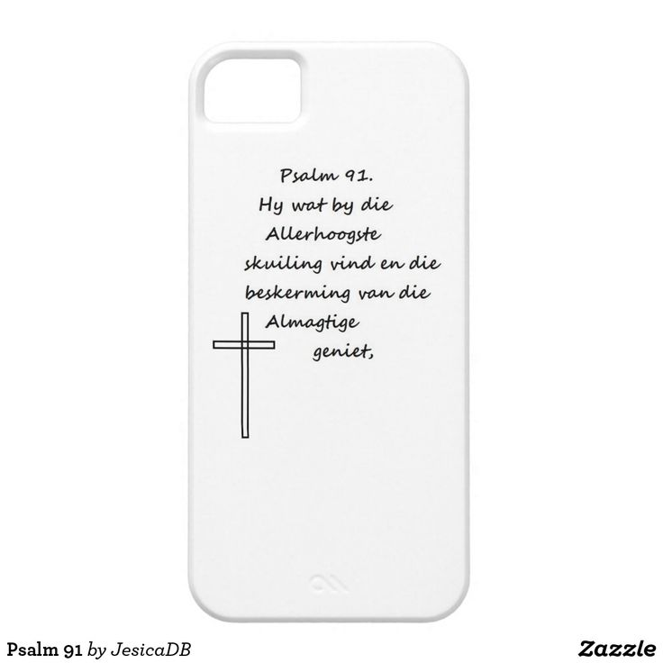 Psalm 91 iPhone SE/5/5s case