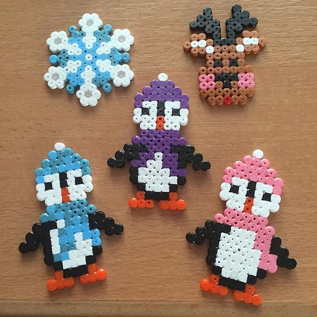 Christmas Ornaments Hama Beads By Mamannashii Perler