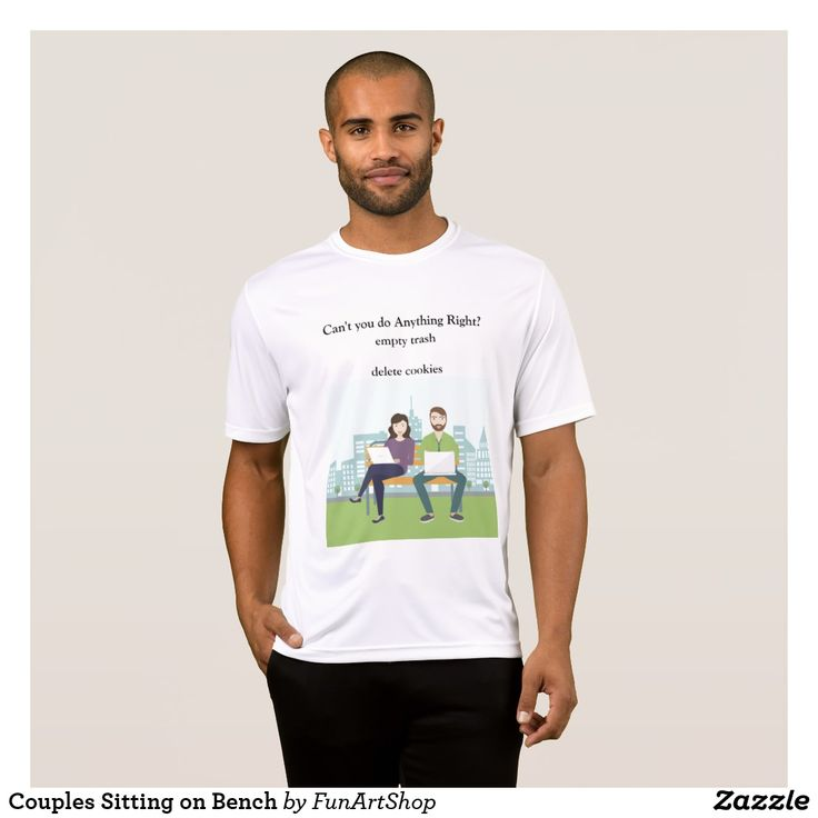 Couples Sitting On Bench T Shirt Couple T Shirt Design Bench T Shirts Education Shirts