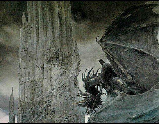 El Rey Brujo de Angmar. Según el artista John Howe.