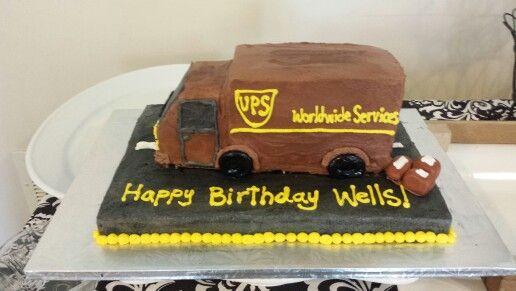 Ups Retirement Cake