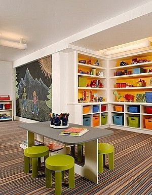 Marvelous Basement Kidsu0027 Playroom Ideas And Design Tips