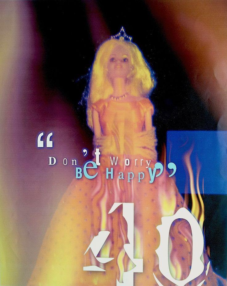 """Cartaz encargado pola empresa MATTEL para conmemorar o 40 aniversario da aparición no mercado da boneca """"Barbie"""""""