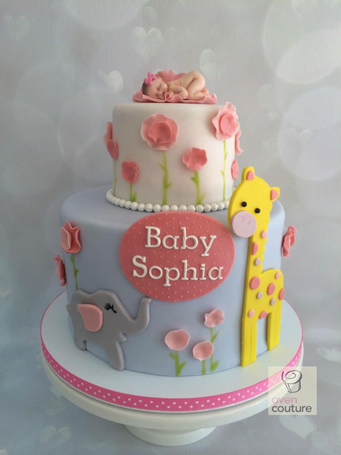 Baby Shower cake - Cake by Oven Couture