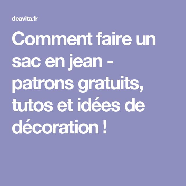 12786 best couture images on Pinterest Sew bags, Embroidery and - Magazine Deco Maison Gratuit