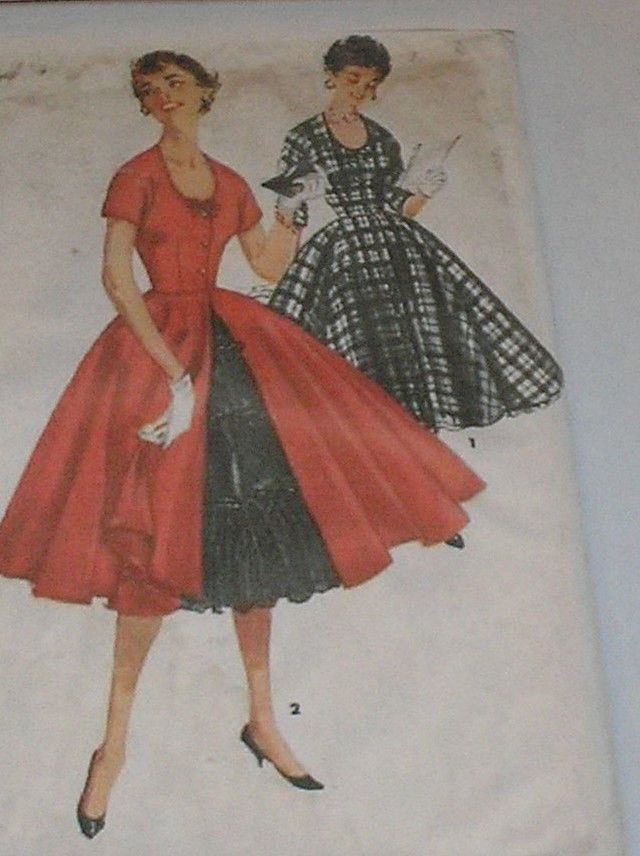 Full skirt patterns pictures