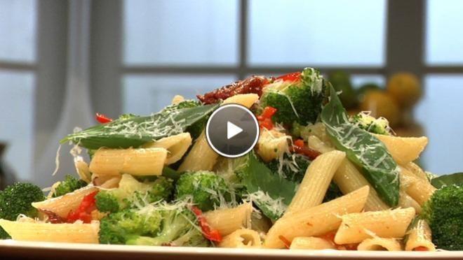 Pittige broccolipasta - recept   24Kitchen