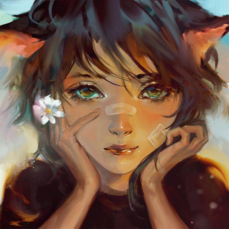 Kitten by Heleness on DeviantArt