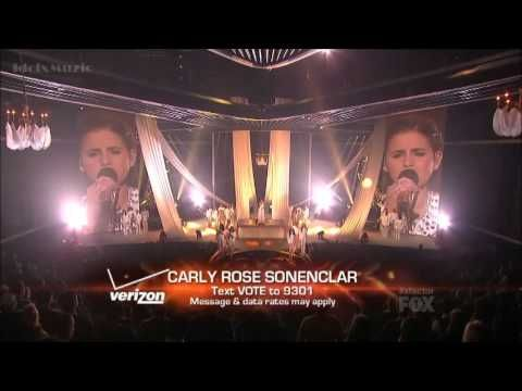 Carly Rose Sonenclar - Hallelujah - X Factor USA (Finals)