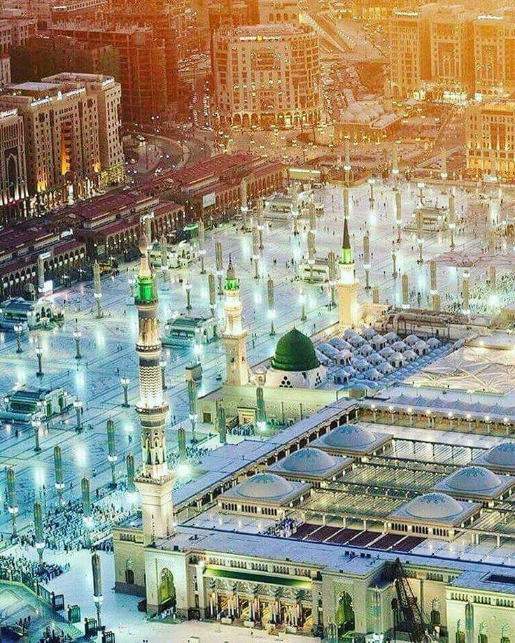 An amazing view of Masjid An-Nabawi
