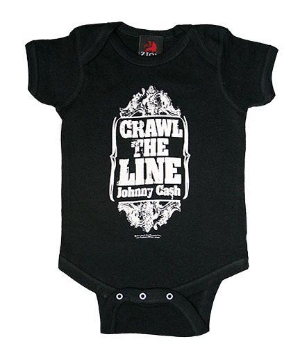 Johnny Cash Crawl the Line One Piece