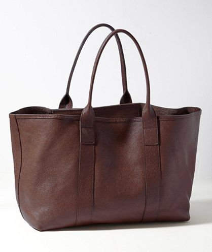 Westport Leather Tote: BAGS | Free Shipping at L.L.Bean