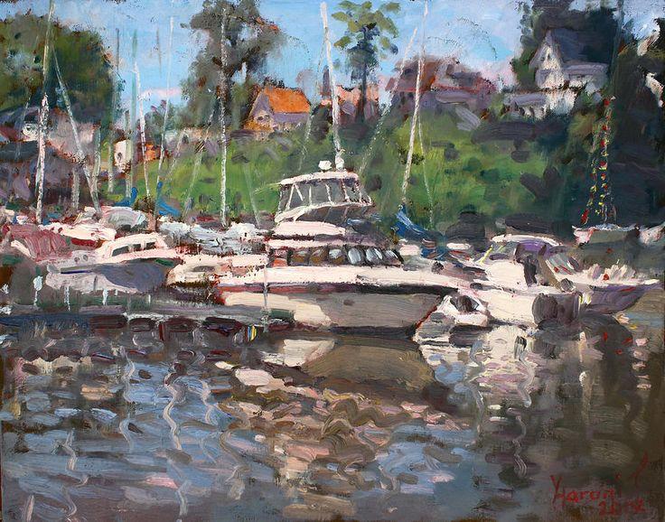 Олкотт яхт-клуб по живописи в гостинице ylli Haruni