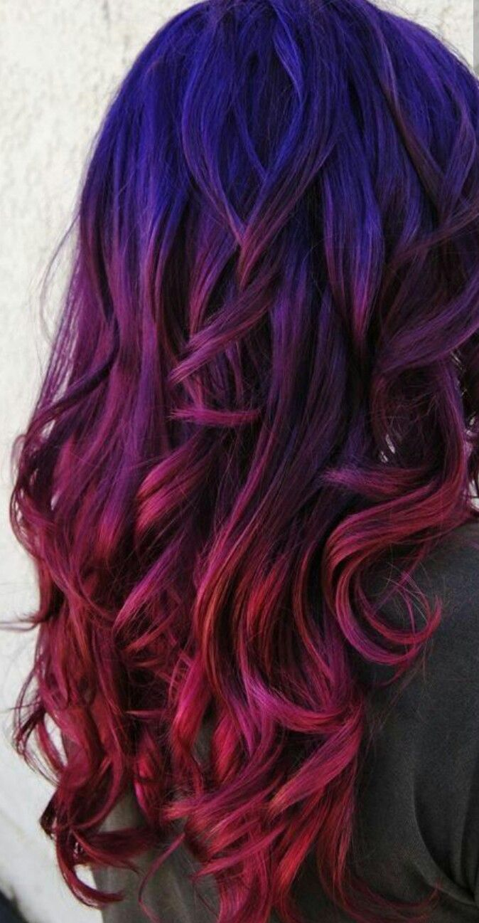 best Hair coloring images on Pinterest Colourful hair Blue