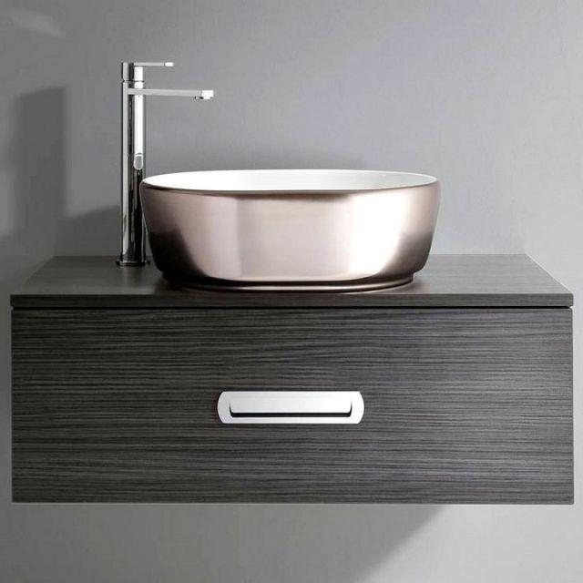 Bauhaus Pearl Countertop Basin #Bathroom #Bauhaus #Pearl #Basin #platinum