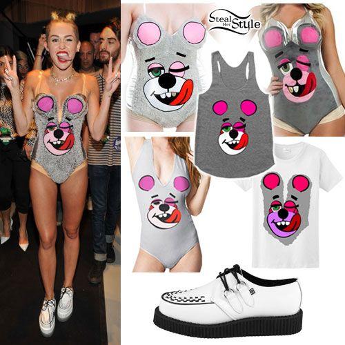 Miley Cyrus: VMA Twerk Bear Halloween Costumes