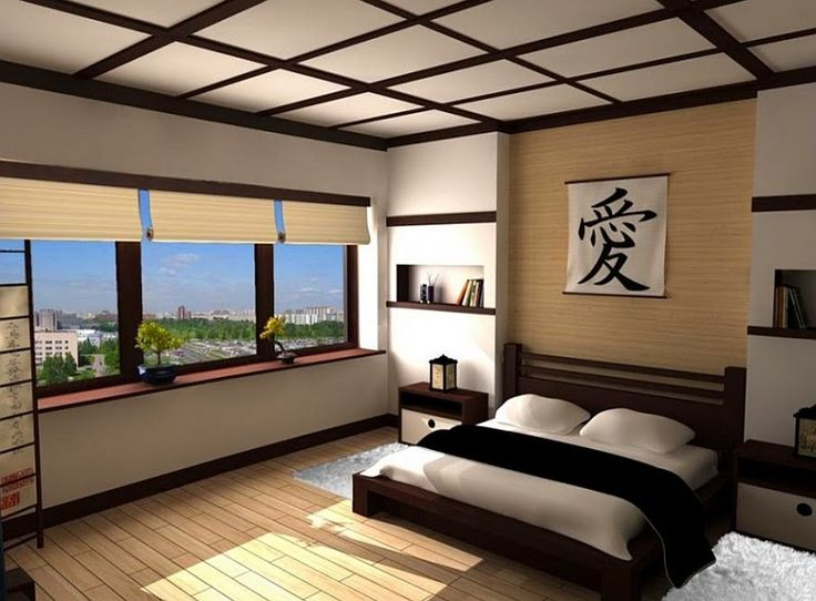 chambre design quelques secrets de syle asiatique d co. Black Bedroom Furniture Sets. Home Design Ideas