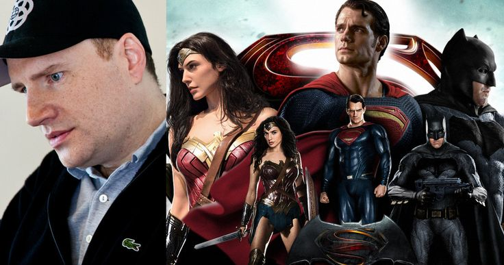 DC Has More Than One Kevin Feige -- Zack Snyder is not considered the DCEU version of Kevin Feige, with the director explaining that position is held by the DC Brain Trust. -- http://movieweb.com/dc-brain-trust-marvel-kevin-feige/