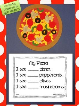 This craftivity includes all of the components to make a pizza craft. Print or copy the pizza parts and have the children place the toppings onto ...