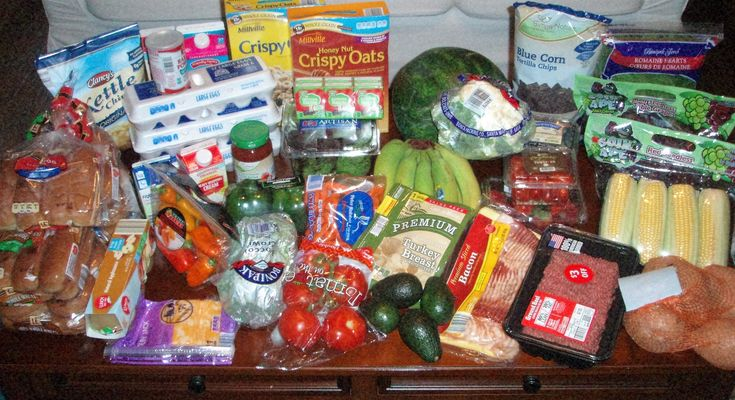 Check out what Brigette's $84 grocery shopping trip and weekly menu plan for 6!