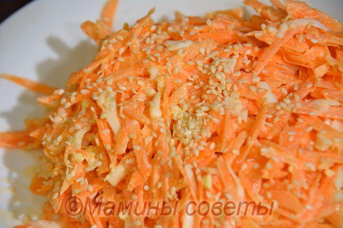 Чудо-салат из моркови - вкусно, полезно и очень просто!