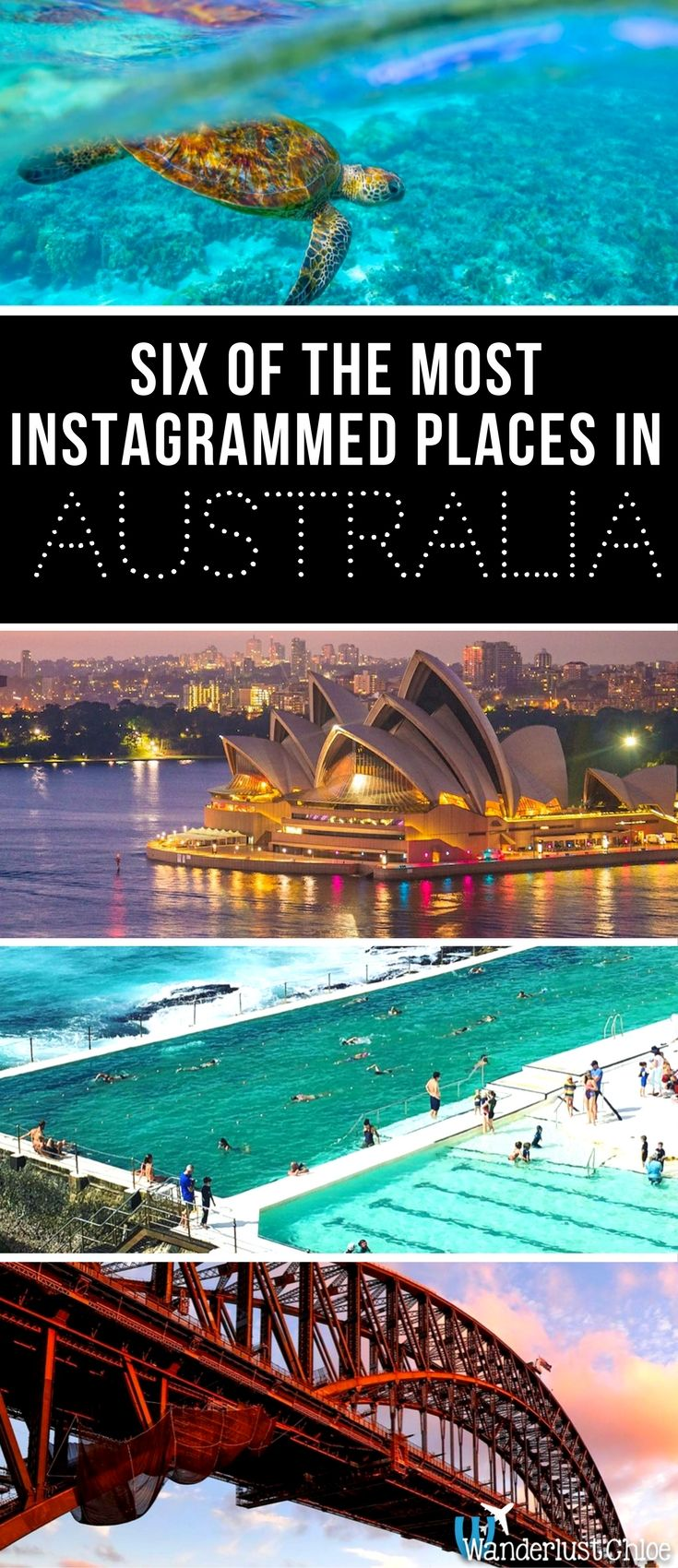 Six Of The Most Instagrammed Places In Australia