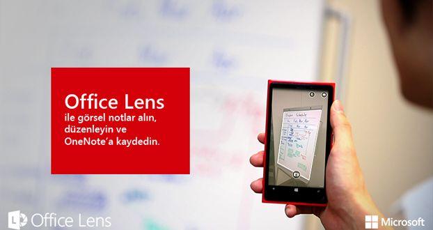 İOS için Microsoft Office Lens uygulaması yayınlandı, indirin!