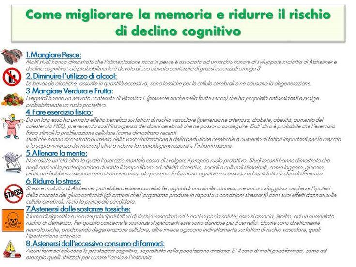 Per migliorare la memoria e ridurre il rischio di declino cognitivo - Cure naturali