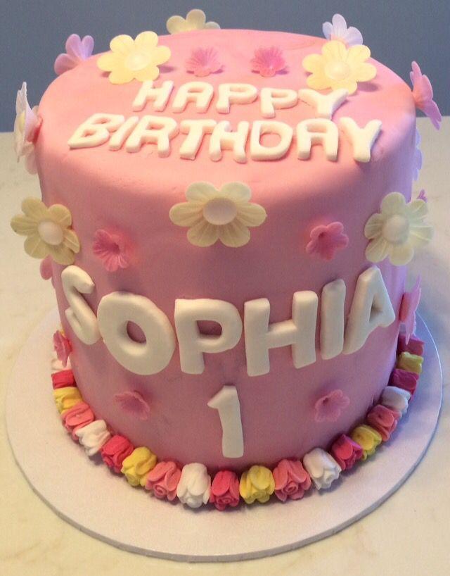 Happy 1st Birthday Sophia