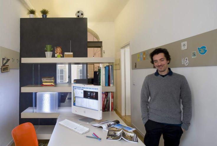 APPARTAMENTO LAGO Torino.  Lo studio on Appartamento LAGO  http://appartamentolago.com/torino/interior-torino_1.jpg